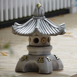 Border Stoneware Single Top Pagoda
