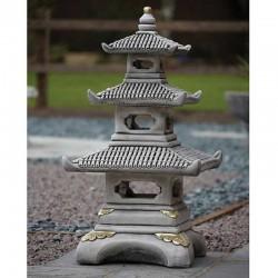 Border Stoneware Three Tier Pagoda
