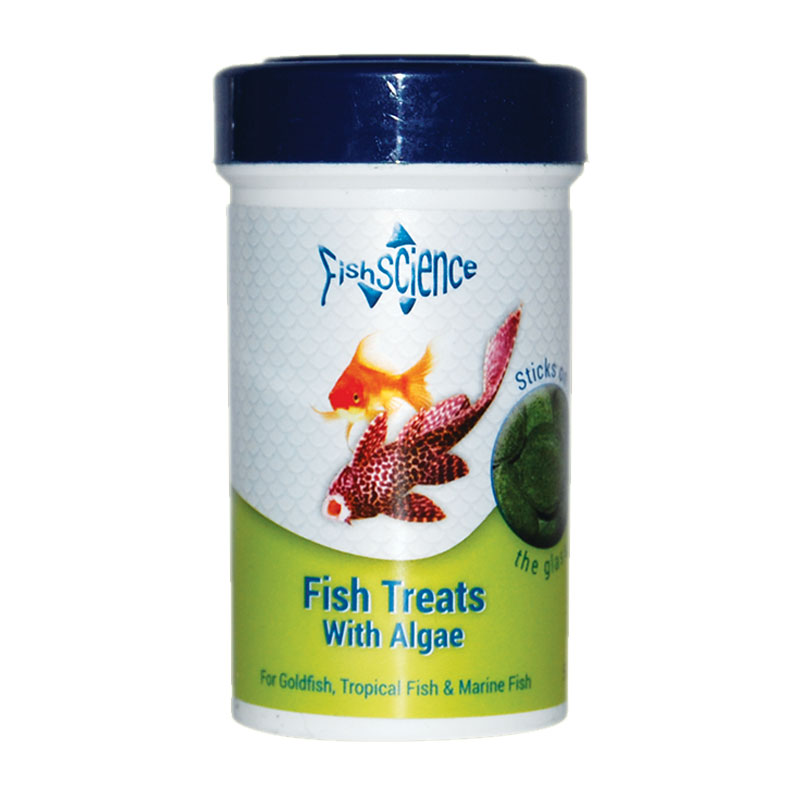FishScience Fish Treats with Algae 50g