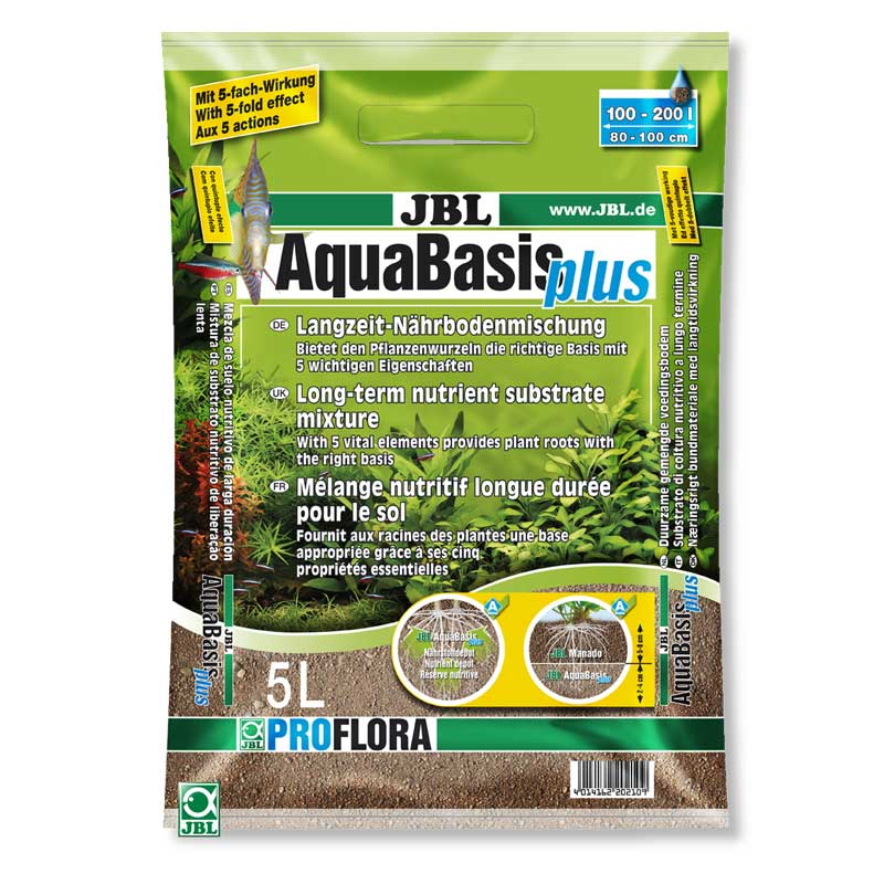 JBL AquaBasis Plus Aquarium Substrate 5 Litre