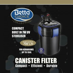 Betta Choice 700 UV Canister Filter - 150L