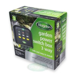 Blagdon Powersafe 3 Outlet Switch Box