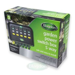 Blagdon Powersafe 5 Outlet Switch Box