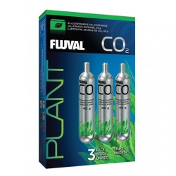 Fluval Pressurized Disposable CO2 Cartridges 3 x 45g