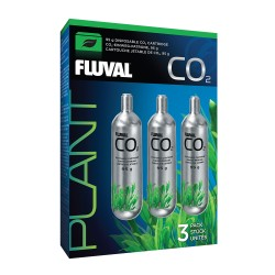 Fluval Pressurized CO2 Disposable Cartridge - 95g 3 Pack
