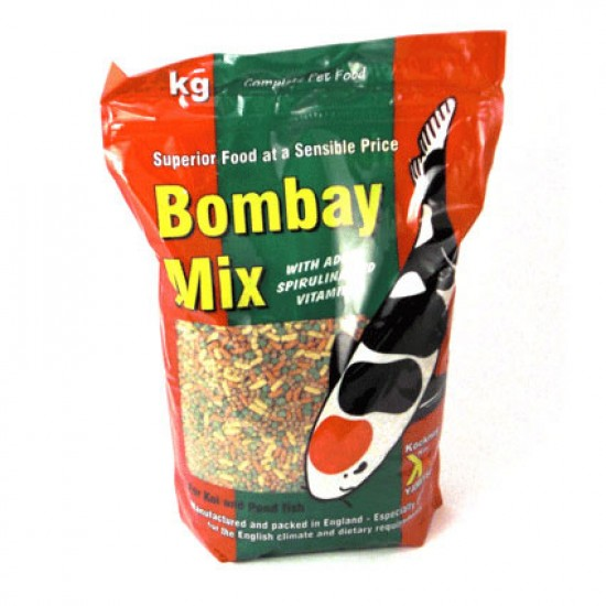 Kockney Koi Bombay Mix Sticks & Pellets - 1kg