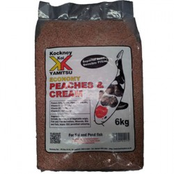 Kockney Koi Peaches & Cream 6kg Economy