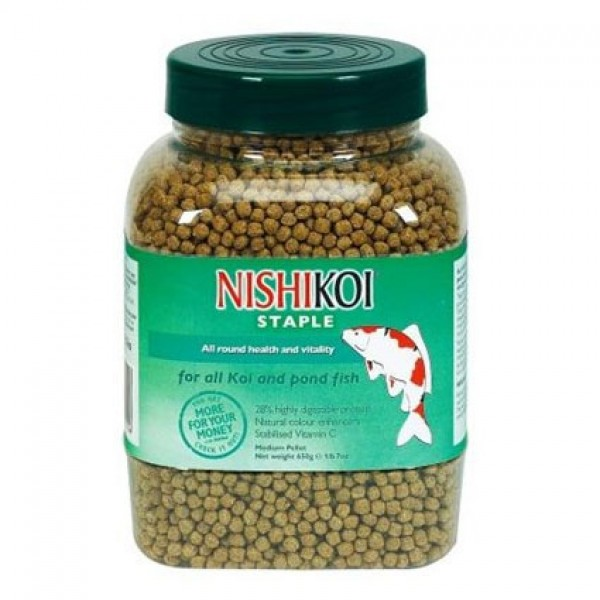 Nishikoi Staple Medium Pellets - 650g