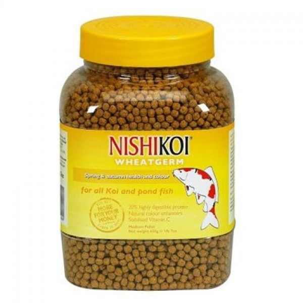 Nishikoi Wheatgerm Medium Pellets - 650g