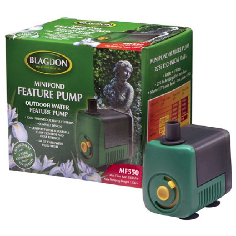 Blagdon MF550 MiniPond Water Feature Pump