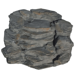 Atlantis Slate Large Fall