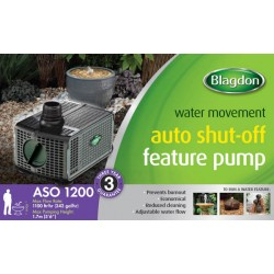 Blagdon 1200 Feature Pump With Auto Shut Off