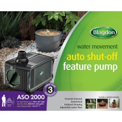 Blagdon 2000 Feature Pump With Auto Shut Off