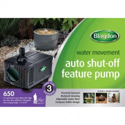 Blagdon 650 Feature Pump With Auto Shut Off