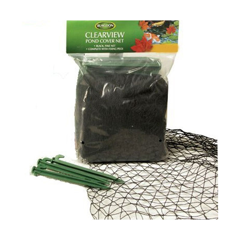 Blagdon Cover Net Clearview Fine Black 6m x 5m