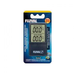 Fluval 2-in-1 Digital Aquarium Thermometer