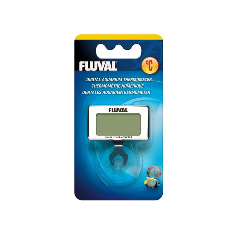 Fluval digital aquarium thermometer with suction cup for Aquarium thermometer