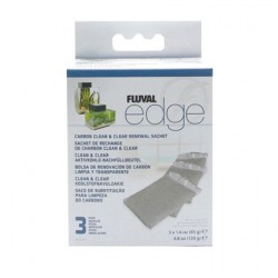 Fluval Edge Carbon Clean & Clear Renewal Sachet
