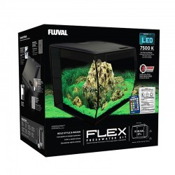 Fluval Flex Aquarium Kit 57 Litre