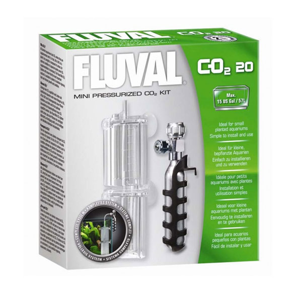 Fluval Mini Pressurized Aquarium CO2 20g Kit