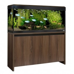 Fluval Roma 240 LED Aquarium Walnut Set