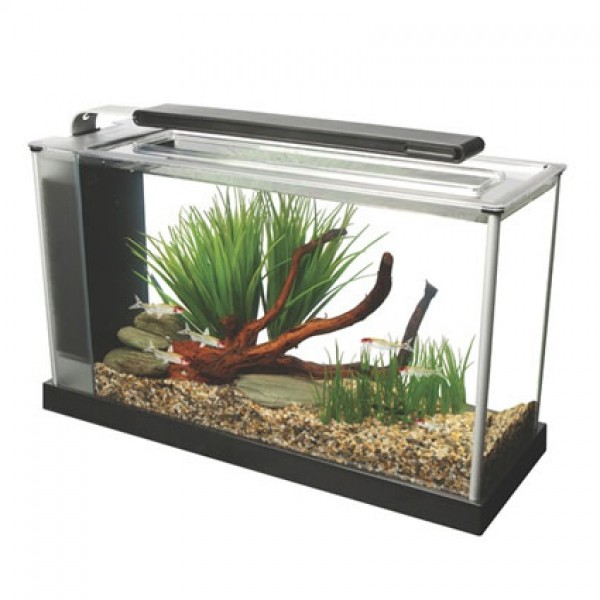Fluval Spec 19 Litre Aquarium Set Black