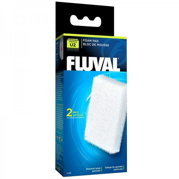 Fluval U2 Filter Foam Media Pad (2pcs) - A486