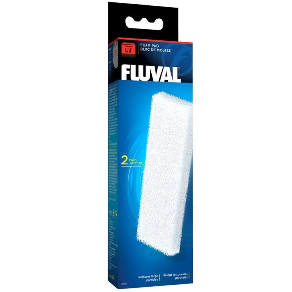 Fluval U3 Filter Foam Media Pad (2pcs) - A487