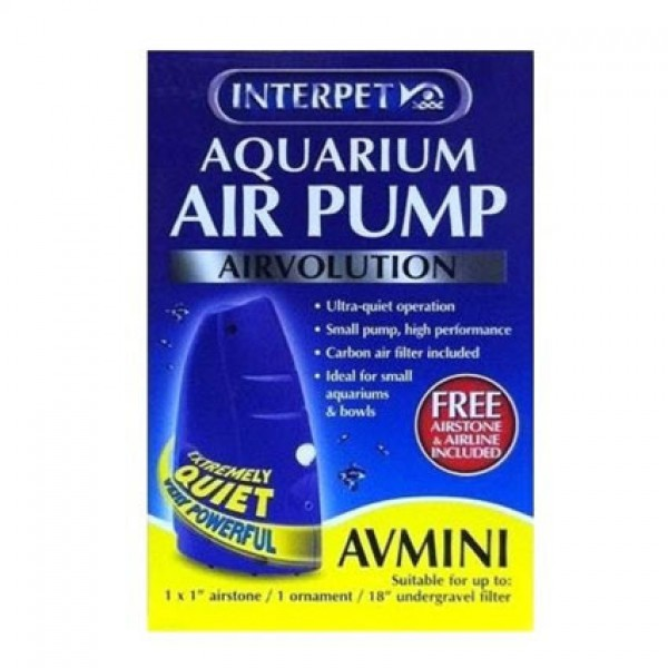 Interpet Airvolution Mini Aqauarium Air Pump