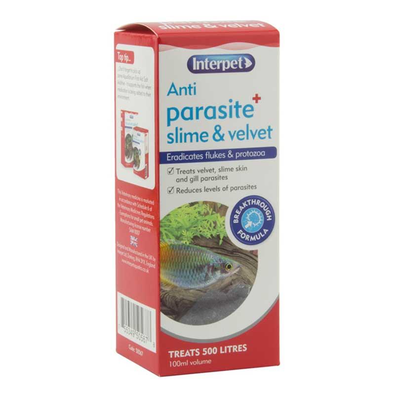 Interpet Anti Parasite Slime & Velvet Aquarium Treatment 100ml