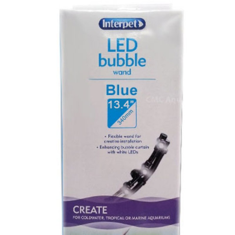 Interpet LED Bubble Wand Blue - 340mm