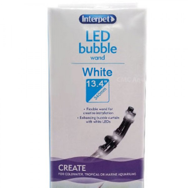 Interpet LED Bubble Wand White - 340mm