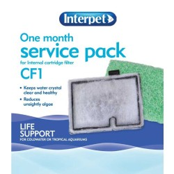 Interpet CF1 One Month Service Pack