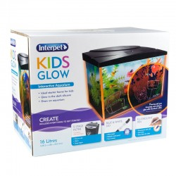 Interpet Kids Glow 16 Litre Aquarium Kit