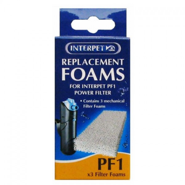 Interpet PF1 Plain Filter Pads - 3 Pack