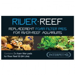 Interpet River Reef 94L Coarse Filter Foam - 2 Pack