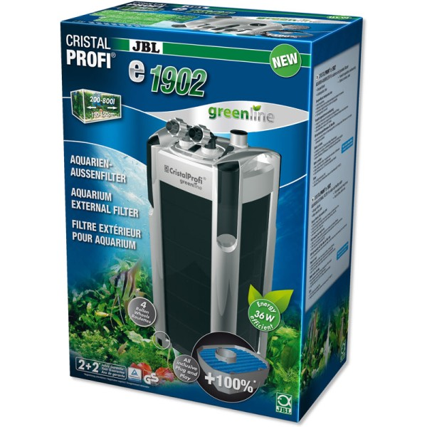 JBL CristalProfi e1902 Greenline External Aquarium Filter
