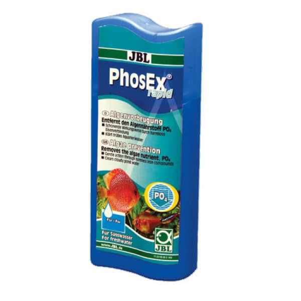 JBL PhosEx Rapid 250ml (Aquarium Phosphate Remover)