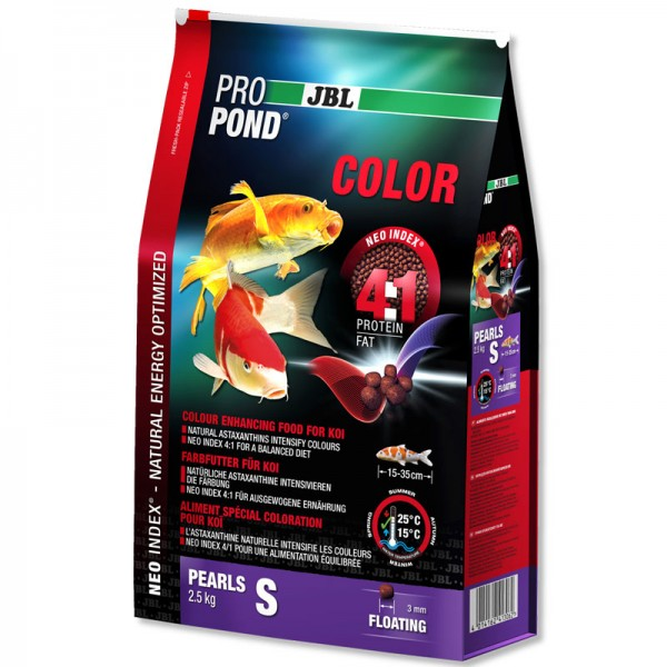 JBL ProPond Color Small 3mm Pellet 2.5Kg