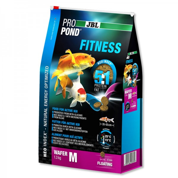 JBL ProPond Fitness Medium 6mm Wafer 1.3Kg