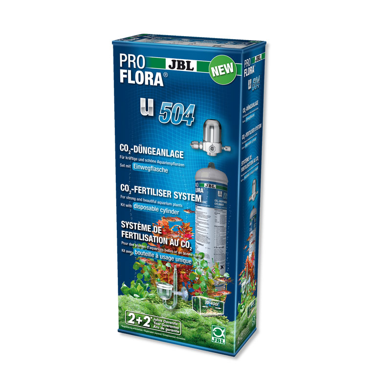 Jbl proflora u504 co2 for Jbl aquarium