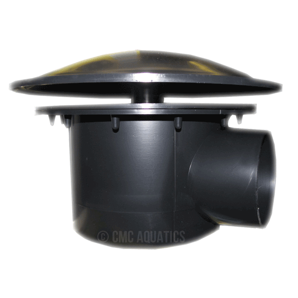 Kockney koi 110mm large sump bottom drain for Koi pond bottom drain setup