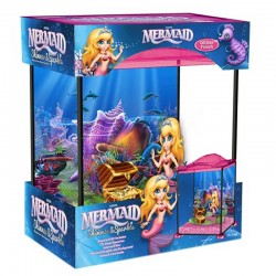 Marina Mermaid Shimmer and Sparkle 17L Aquarium Kit
