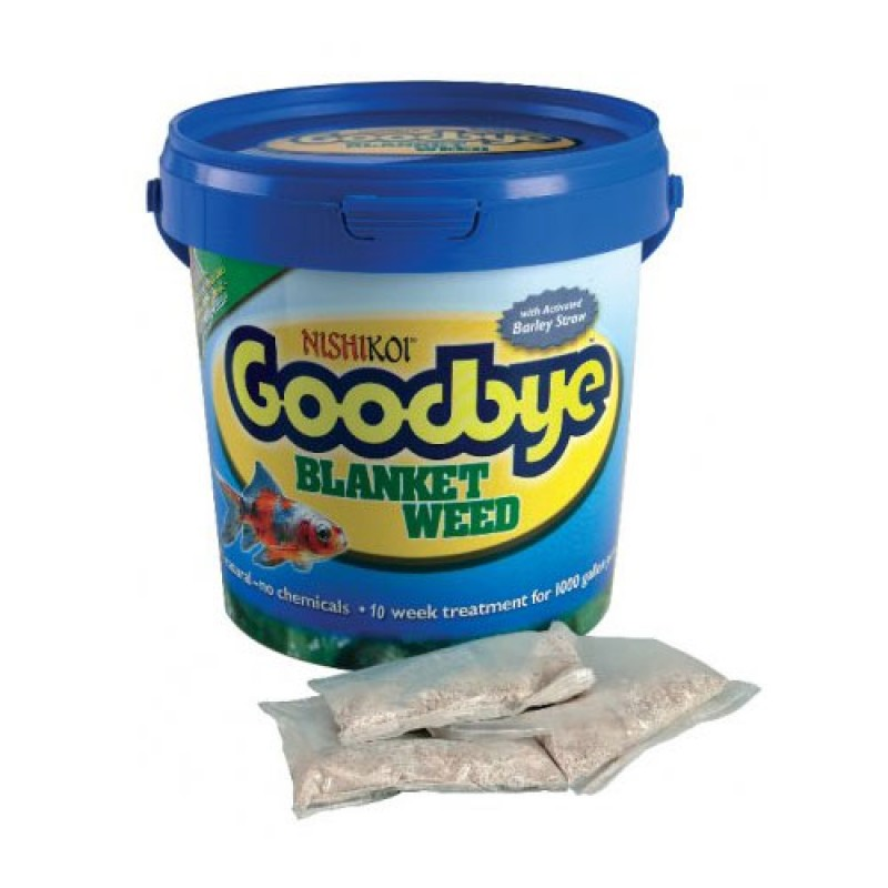 Nishikoi Goodbye Blanket Weed - 10x25g Pack