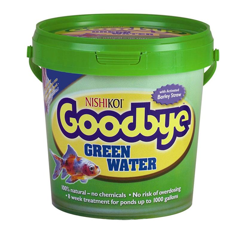 Nishikoi Goodbye Green Water - 8x25g Pack
