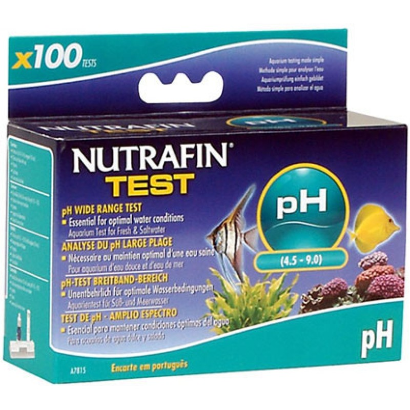 Nutrafin pH Wide Range Aquarium Test Kit