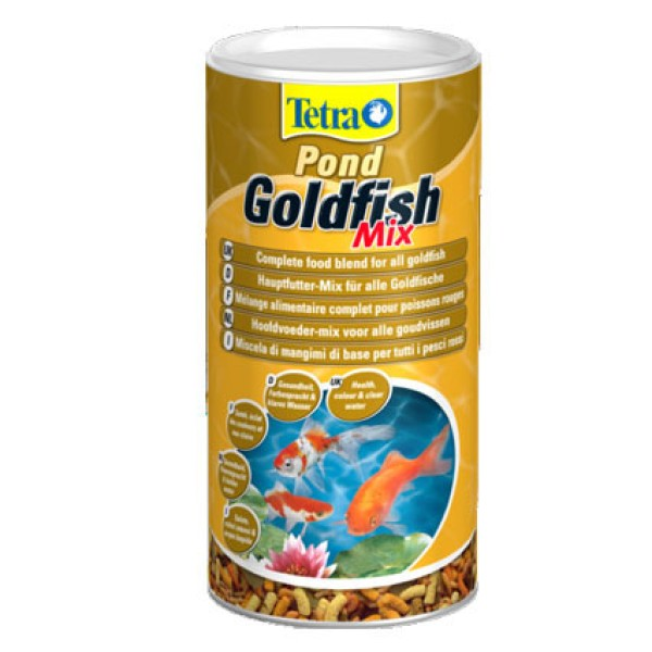 Tetra Pond Goldfish Mix 140g (1 Litre)