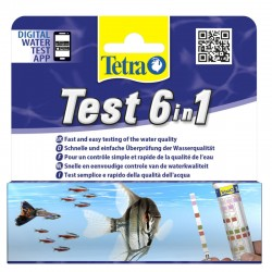 Tetra Test 6 in 1 - (25 Strips)
