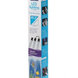 Interpet LED Lighting Bright Blue Moon Triple System 3 x 36cm