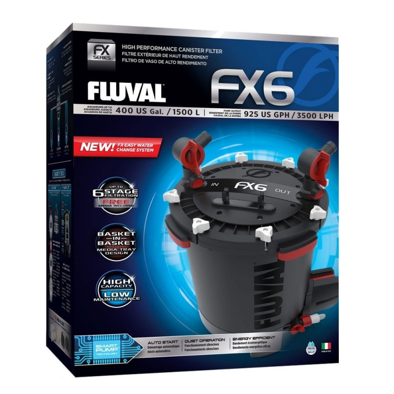 Fluval FX6 External Aquarium Filter
